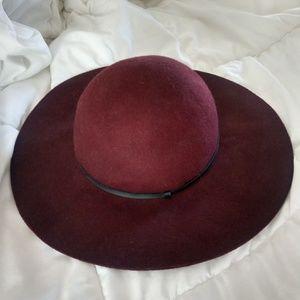 Floppy Wide Brim Wool Hat